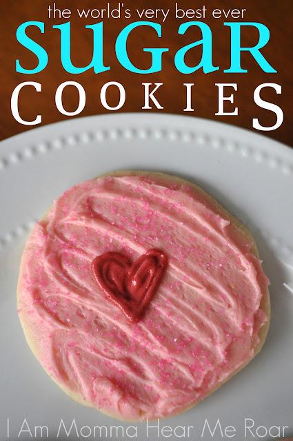 Am Momma - Hear Me Roar: The World's Best Sugar Cookies
