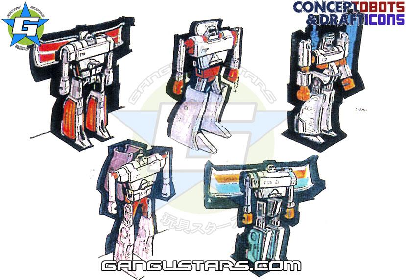 Transformers prototypes megatron G1 トランスフォーマー タカラ Microman ミクロマン