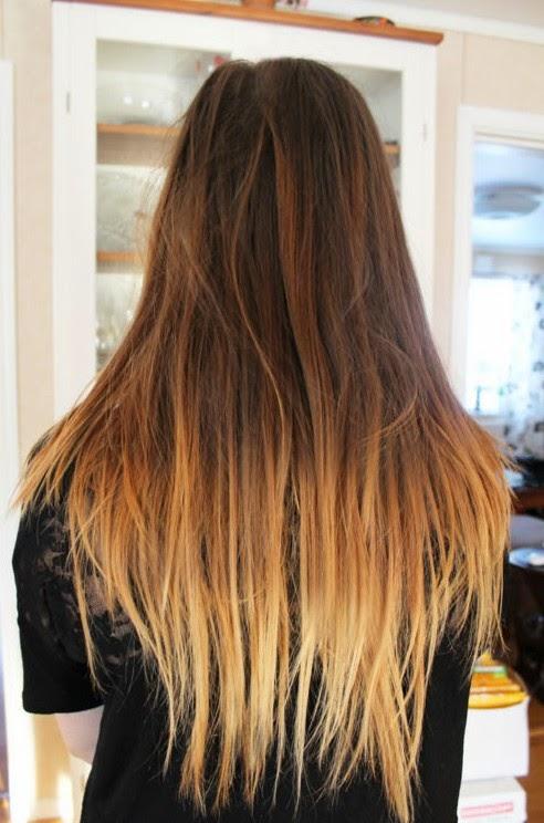 Как в домашних условиях обесцветить кончики волос 78