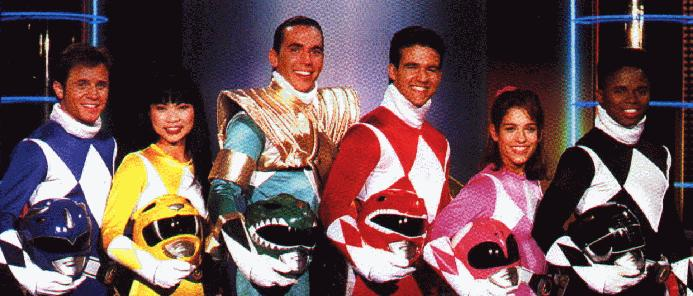 mighty morphin power rangers  with the green ranger abs-cbn