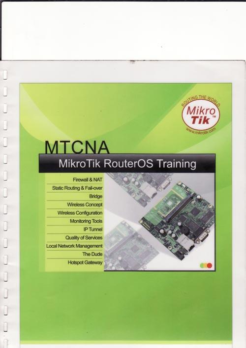 BUKU PANDUAN MIKROTIK ROUTER OS TRAINING (MTCNA)- 750.000