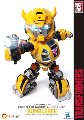 Transformers: Bumblebee della Kids Logic