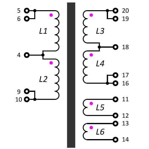 transform (memindah) daya dari primer ke sekunder