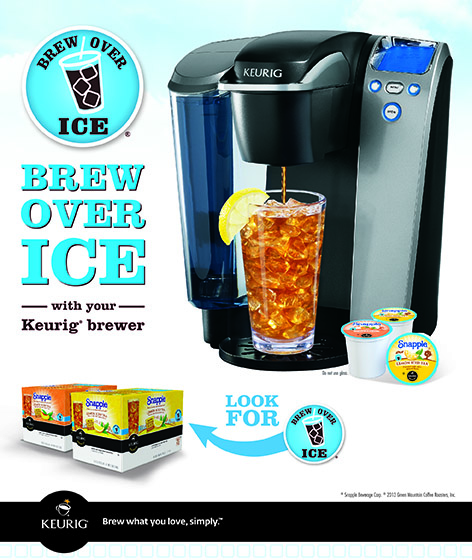 Brew Over Ice With Keurig