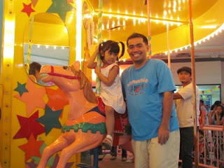 Merry-go-round Ride, Victoria Plaza, Davao City