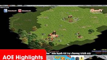 AOE Highlights - Trận đấu siêu kinh điển của Gunny và Chipboy