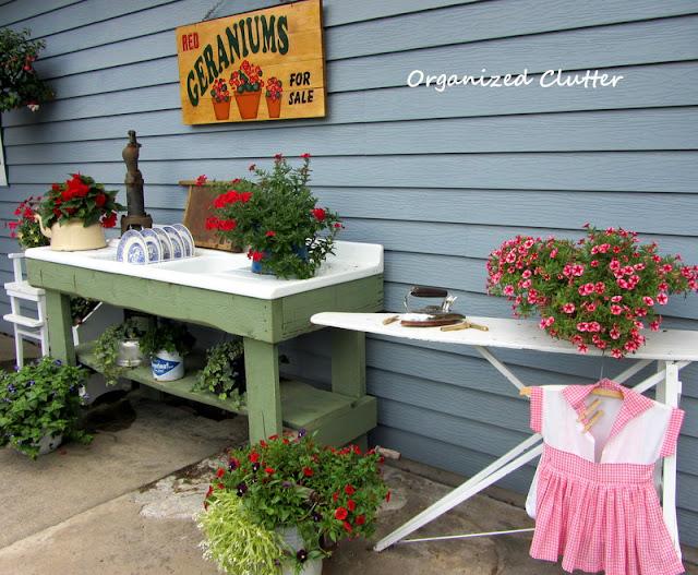 Whimsical Kitchen Potting Sink/Bench