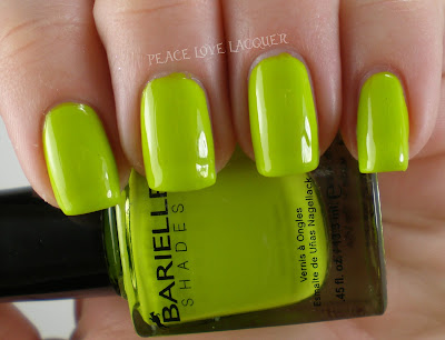 Barielle, Green Apple Chew, bright, lime, green, creme, neon