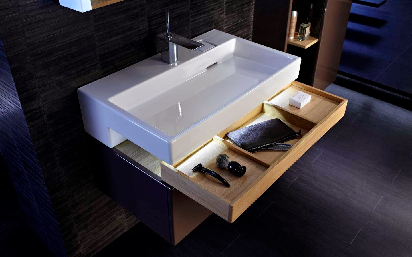 Jacob Delafon Kitchen Sinks : kbculture: Slide Away
