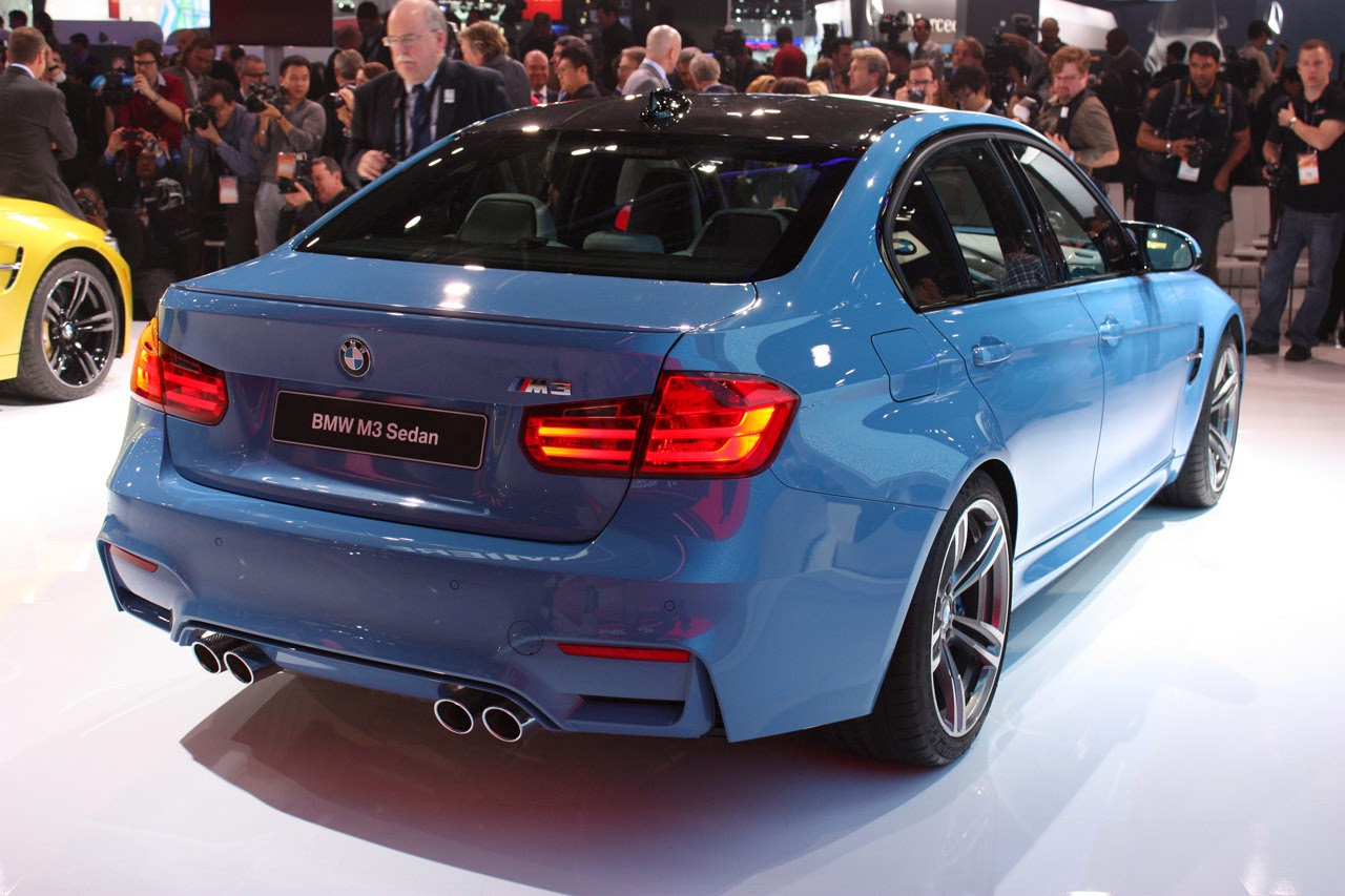 automotiveblogz 2015 bmw m3 sedan detroit 2014 photos. Black Bedroom Furniture Sets. Home Design Ideas