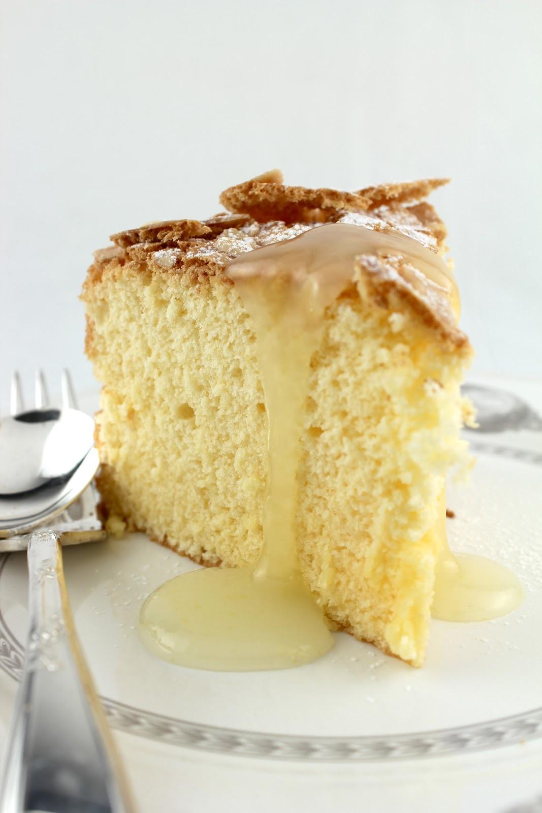 Passover Lemon Almond Sponge Cake with Warm Lemon Sauce | Entries ...