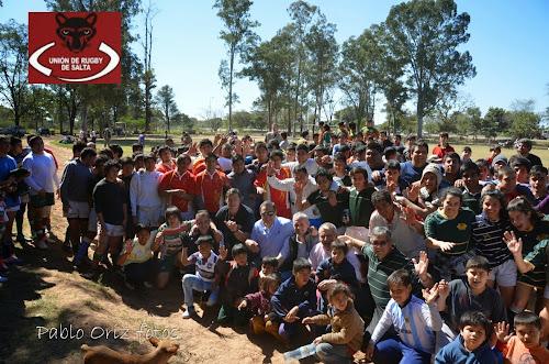 Tartagal, primer encuentro de Rugby Desarrollo 2014