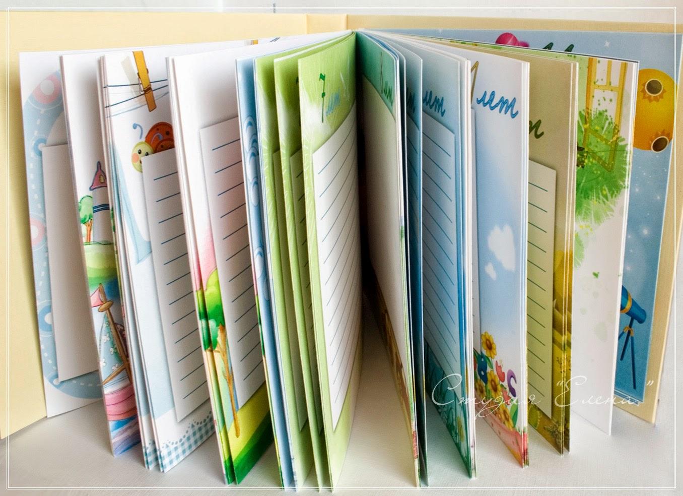 Книга пожеланий для мальчика + страницы для оформления