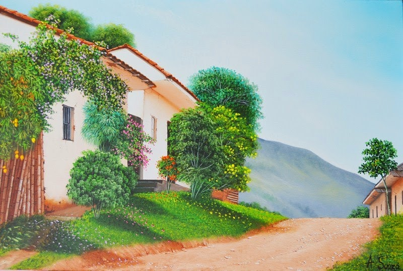 paisajes-costumbristas-pintados-en-oleo