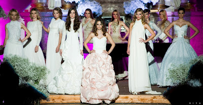 Róbert Bartolen - Wedding dress fashion show 2012