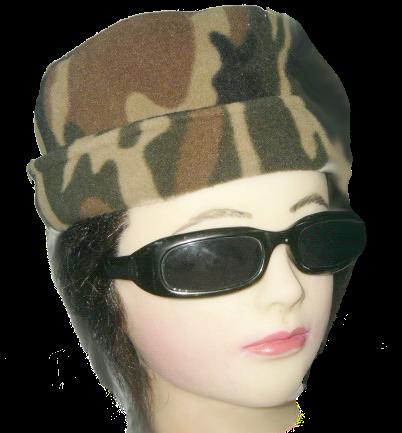 หมวกกันหนาว ลายทหาร