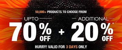 Jabong Sale Offer: Get Additional 20% OFF on Already 70% Discounted Products (Valid till 24th April'13)