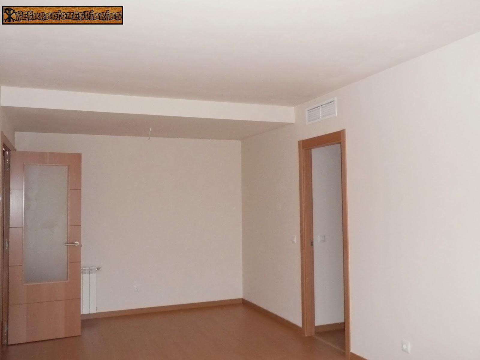 Reparacionesdiarias pintar el salon a dos colores - Muebles de salon en blanco roto ...