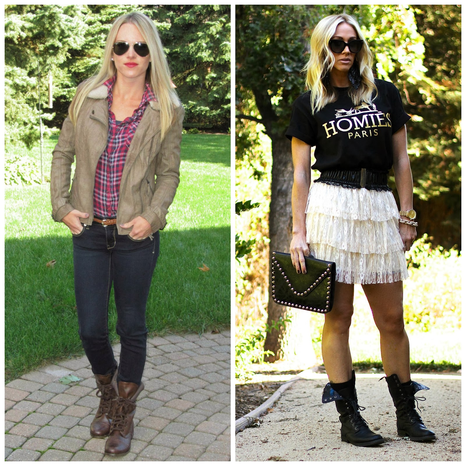 The Parlor Girl: How To Style Combat Boots
