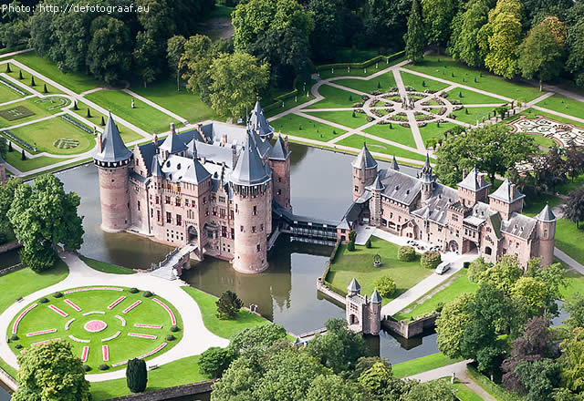 KASTEEL DE HAAR - CASTLE - NETHERLANDS - HOLANDA