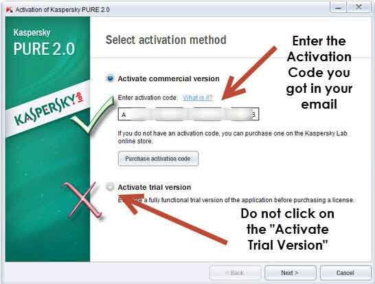 Kaspersky Pure 2.0 License Key