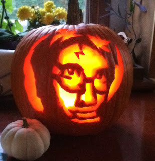 Harry Potter pumpkin design