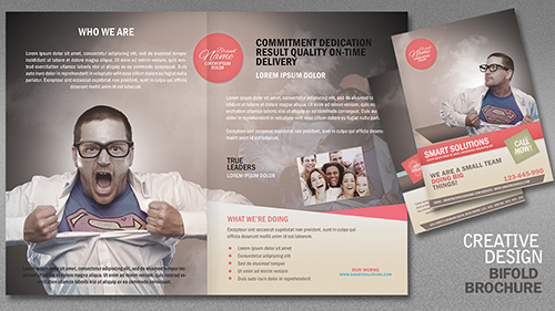 Design a Creative Bi Fold Brochure In Photoshop Part 2