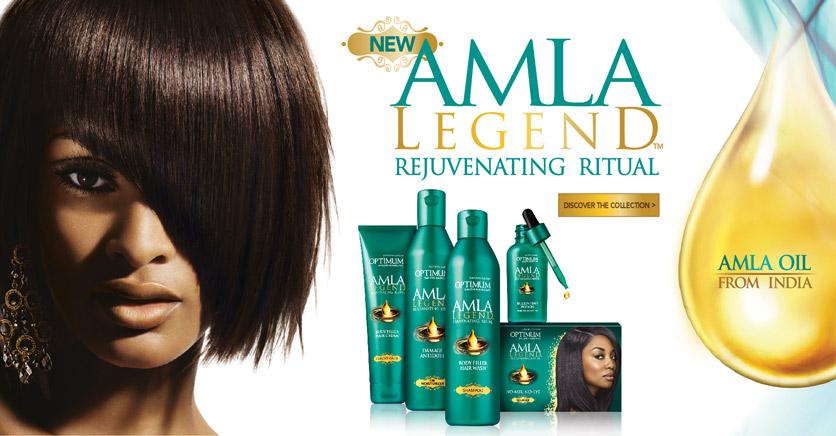 Nouvelle gamme Amla Legend de Optimum care
