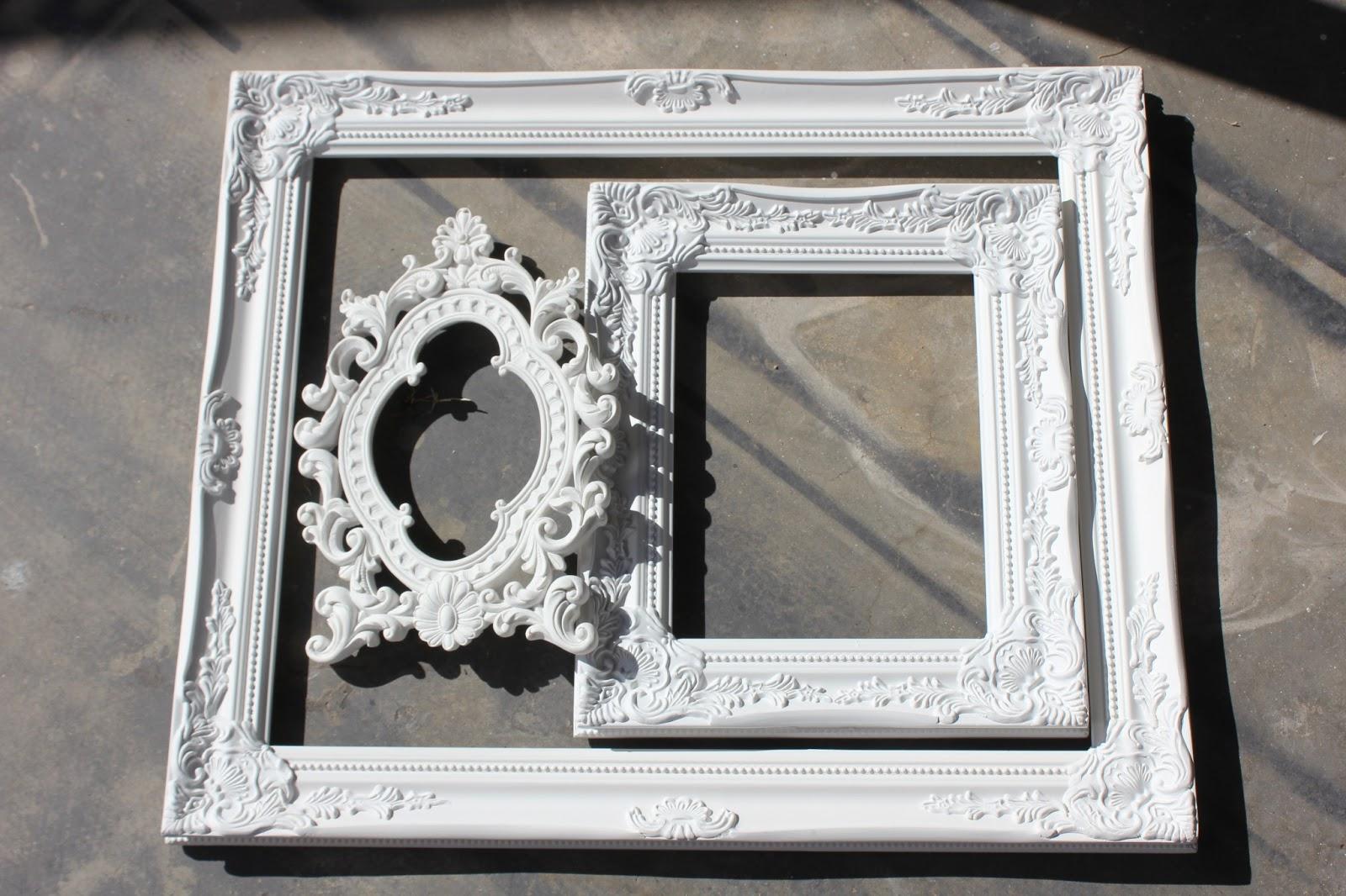 Hawks and honey: DIY Chalkboards {upcycled frames, cardboard & spray ...
