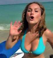 Giada De Laurentiis Bikini Bora Bora