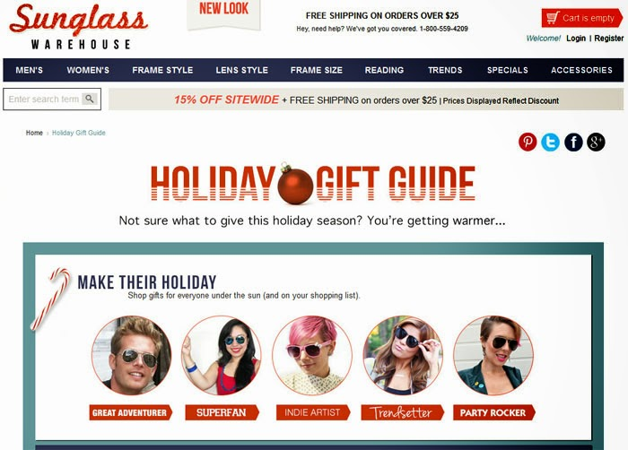 http://www.sunglasswarehouse.com/holiday-gift-guide.html
