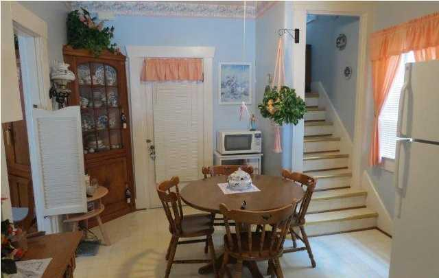 ... You May Realize This Small Space Is Has Two Doorways, A Window, And A  Charming Split Staircase To The Second Level. Where Is The Counter Space?