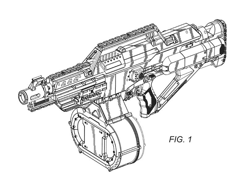 Nerf Modulus Pages Coloring Pages