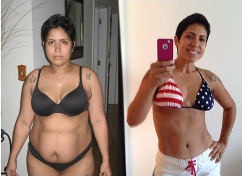 results on your own time  P90x Results Women Obese