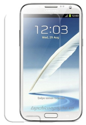 dán màn hình samsung Galaxy Note 2