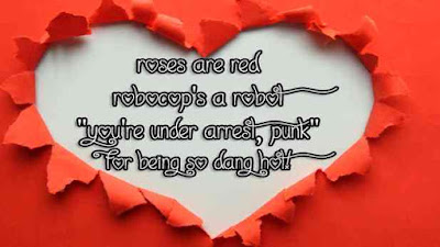 funny valentines poems