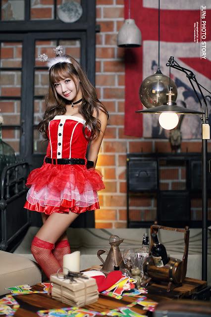 2 Jo In Young - merry christmas - very cute asian girl-girlcute4u.blogspot.com