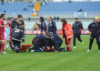 Morosini dies from heart attack
