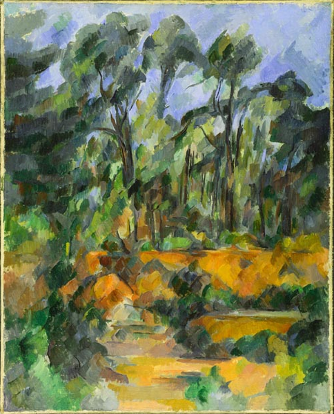"Picture of ""Forest"" by Paul Cezanne, 1904"