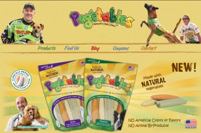 Dogs LOVE Pegetables Video Contest