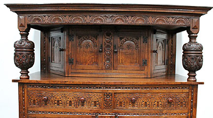 The court cupboard showed off the prosperity and status of the owner of the  house. It's no wonder that they were such impressive and beautifully  decorated ... - AntiquesQ&A: Neither Royal Nor Legal