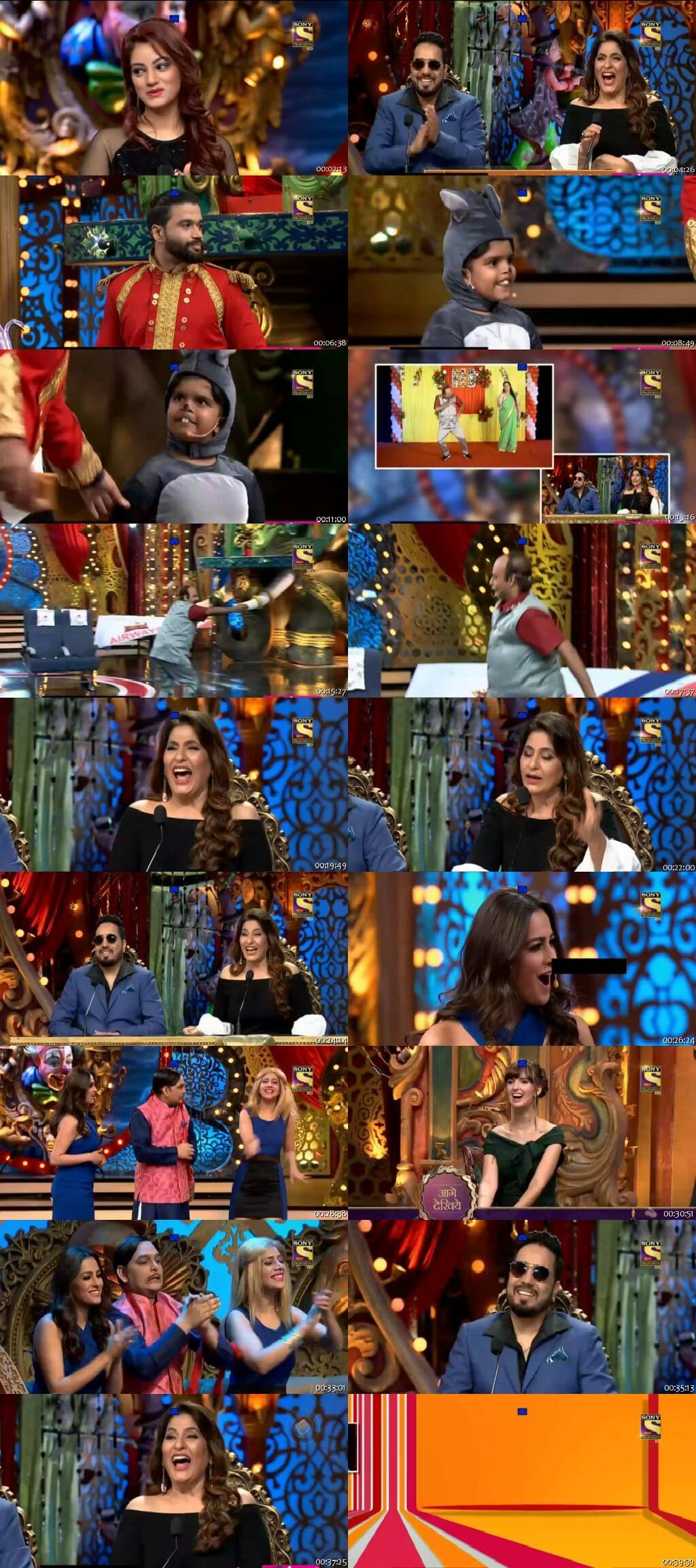 Screen Shot Of Comedy Circus 16th September 2018 Episode 02 300MB Watch Online
