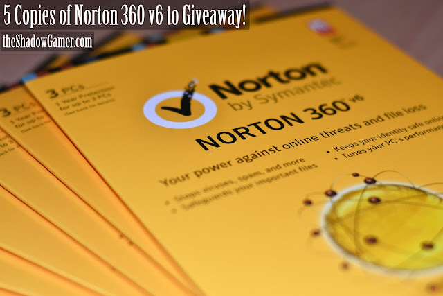 contest to win 5 copies of Norton 360 v6