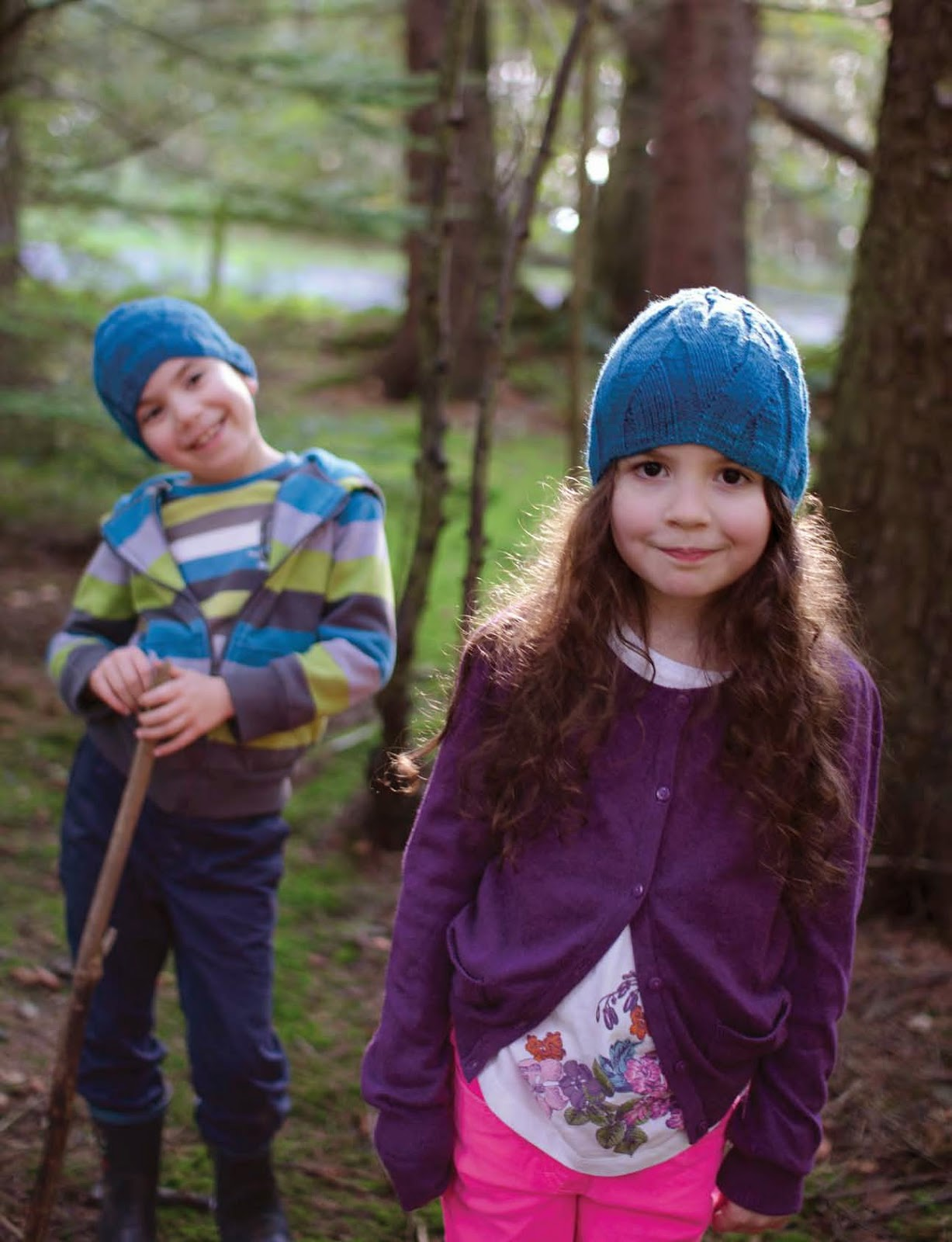Bowburn hat pattern by Katya Frankel. Head to Toe: Kids' Knit Accessories.