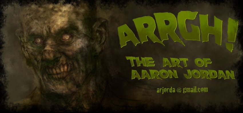 ARRGH! The Art of Aaron Jordan