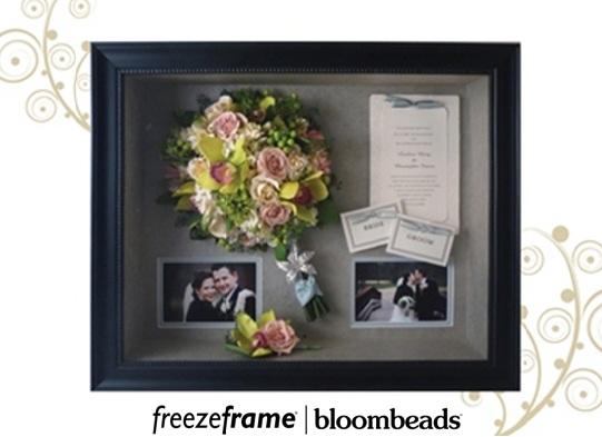 Frame Your Wedding Flowers Framed Wedding Bouquet