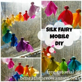 Supply Kit for Silk Fairy Mobile DIY