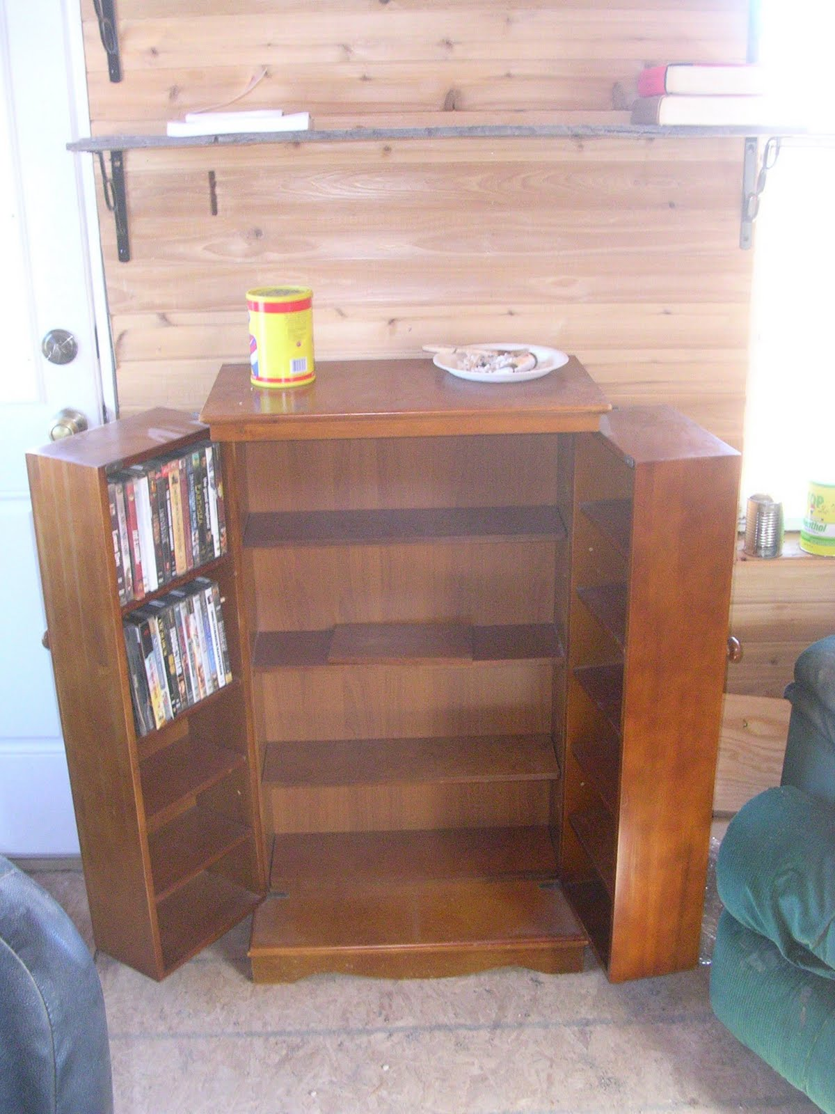 good  I mean perfectly good  DVD cabinet. What were they thinking