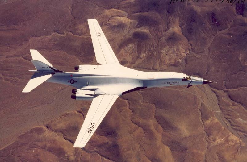 B-1A Lancer Long Range Bomber