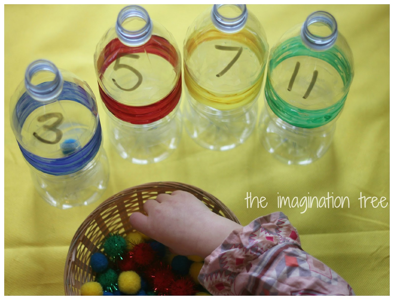 Sort and Count Maths Bottles - The Imagination Tree